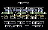 Oops! Commodore 64 Title Screen.