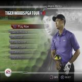Tiger Woods PGA Tour 07 PlayStation 2 After displaying a load of licensing information and a close up of the great man himself, the game finally gets to the main menu screen