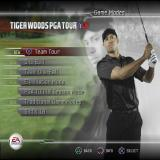 Tiger Woods PGA Tour 07 PlayStation 2 Golf isn't just a simple game. There are six kinds of game on this screen and by scrolling down three more can be seen