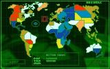 Syndicate Amiga Map of the world on which you may choose next region you would like to take over.