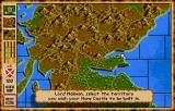 Vikings: Fields of Conquest - Kingdoms of England II Amiga Choose a suitable place for your castle