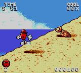 Cool Spot Game Gear Crabs appear from the sand