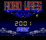 Robo Wres 2001 Arcade Title screen