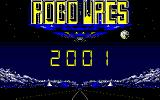 Robo Wres 2001 PC-88 Title screen