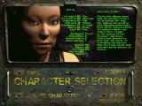 Fallout 2 Windows Character creation screen
