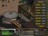 Fallout 2 Windows Checking your skills.