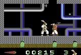 Ninja Rabbits Commodore 64 In the sewers.