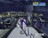 Torino 2006 PlayStation 2 Take-off from the ski-jump. This looks like it is going to hurt. All events are replayed from different camera angles.