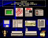 Premier Manager Amiga The main game screen