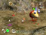 Pikmin GameCube The Pikmin are losing. Run away! Run away!