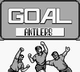 J.League Fighting Soccer: The King of Ace Strikers Game Boy Goal!