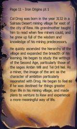 Block Rogue Android A page of lore