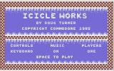 Icicle Works Commodore 16, Plus/4 Title Screen.