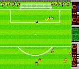 Tehkan World Cup Arcade Shot at goal.