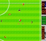 Tehkan World Cup Arcade Midfield action.