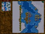 Warcraft II: Tides of Darkness (Demo Version) DOS When the game is left idle in the main menu for a while, it switches into a non-interactive attract mode that shows battles between the Alliance and the Horde.