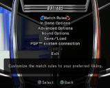 WWE Smackdown vs. Raw 2006 PlayStation 2 The Options menu is accessed from the Main menu. It allows the player to customise the game