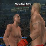 WWE Smackdown vs. Raw 2006 PlayStation 2 There is a game option to play one of three pre-fight mini-games such as the Stare Down Battle, Lock Up, or Test Of Strength