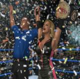 WWE Smackdown vs. Raw 2006 PlayStation 2 Winning a championship is accompanied by a blizzard of paper snow