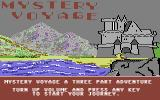 Mystery Voyage Commodore 64 Title Screen