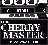 Neo Cherry Master  Neo Geo Pocket Title screen