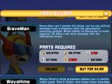 BRAVOMAN: Binja Bash! iPad As you collect more parts, you can unlock more characters
