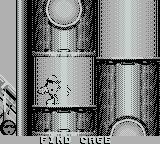 Cool Spot Game Boy Use the tubes to return to the top