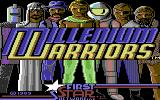 Millenium Warriors Commodore 64 Loading Screen.