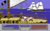 Millenium Warriors Commodore 64 Pirates sword fighting.