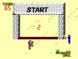 Enduro Racer SEGA Master System Begin race 2