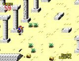Enduro Racer SEGA Master System Watch out for rocks