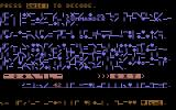 Combination Wars Commodore 64 Your mission in code.