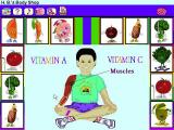 Dole 5 A Day Adventures Windows 3.x This is H.B.'s Body Shop. The player clicks on body parts and finds out what fruit & vegetables are needed to maintain it