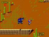 Enduro Racer SEGA Master System Racing a jeep
