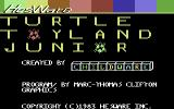 Turtle Toyland Jr. Commodore 64 Title Screen