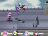 Fate Stay Night Racing Windows On a roof