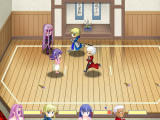 Fate Stay Night Racing Windows The fight round starts.