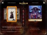 Talisman: Prologue Windows Another character, the vampire hunter. Different characters also have different quests (scenarios) to choose from.