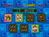 Columns III: Revenge of Columns Windows Main menu