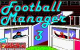 Football Manager 3 Amstrad CPC Loading Screen.