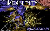 Mean City Commodore 64 Loading Screen.