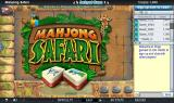 Mahjong Safari Browser Title screen.