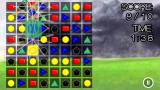 PuzzleStones Symbian In Target Squares mode the player must make matches of specific colors that cover set targets on the grid in order to score.