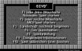 Oxyd Atari ST Menu German version (Monochrome, 640x400)