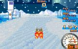 Road Trip: Shifting Gears Game Boy Advance In this challenge, you must use speed tiles to increase your speed in order to get into the bullseye area before the snow stops you