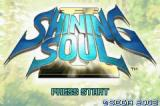 Shining Soul II Game Boy Advance A new adventure awaits