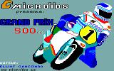 Grand Prix 500 cc Thomson TO Title screen