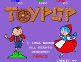 Toy Pop Arcade Title Screen.