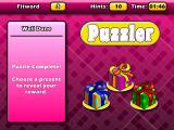 Puzzler World Windows You get to select a present when you complete a puzzle successfully