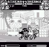 King of Fighters R-1 Neo Geo Pocket Poor Shermie